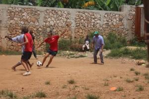 Sfida Italia-Ayiti finita 3 a 2 nonostante un arbitraggio scandalosamente aytiano....